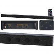 auvisio Soundbar MSX-440 mit Bluetooth & Mediaplayer, 8 Lautsprecher, 80 Watt