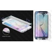 Стъклен протектор за Samsung Galaxy S6 Edge SM-G925 (Темперирано закалено стъкло) 'Full Screen Glittery Bord'