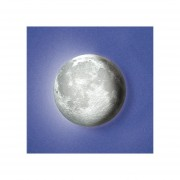 Lampara De La Luna Led 3d Uncle Milton Nueva Original Pared-Multicolor