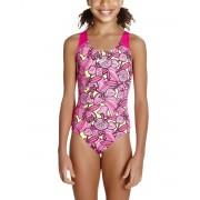 SPEEDO Comet Crush Splashback Swimsuit Pink