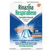 Glaxosmithkline C.Health.Spa Rinazina Respirabene Cerotti Nasali Classici Grandi Carton 30 Pezzi
