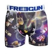 Boxer Freegun Lapins Cretins motif Space