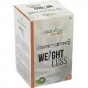 Nature Sure Agnimantha Weight Loss Formula for Men and Women 1 Pack (1x60 Capsules)