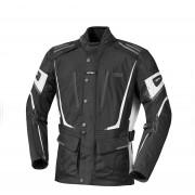 IXS Powell Chaqueta textil de las señoras Negro Blanco 2XL