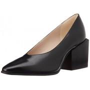 Clarks Women's Amaline Eve Black Leather Pumps - 6 UK
