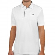 Under Armour Tech Polo Heren - wit