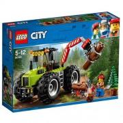 Set de constructie LEGO City Tractor de Padure