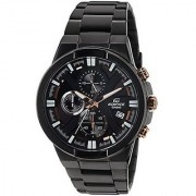 Casio Chronograph Black Round Watch -EX230