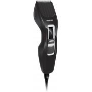 Aparat de tuns HC3410/15, 0.5-23 mm, 13 Trepte, Lame lavabile, Negru/Argintiu