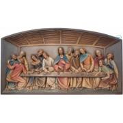 Rilievo ultima cena-Leonardo da Vinci 12x23cm color