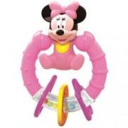 Jucarie zornaitoare pentru bebelusi din plastic moale Minnie Mouse