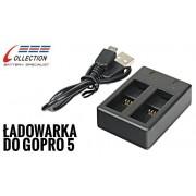 Podwójna ładowarka AHDBT-501 (GoPro Hero 5, 6, 7) (GP921)