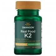 Swanson Vitamín K2 MK7 200 mcg 30 kapslí