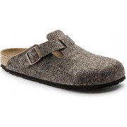 Birkenstock Boston Cocoa Narrow Wolle Wooly Home - maat 40