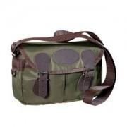 Wald & Forst Jagdtasche mit klassischen Lederbesätzen