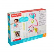 Movil Musical 3 En 1 Amigos Naturaleza Rosa Fisher Price DRD69