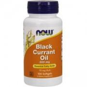 Maсло от черен касис - Black Currant Oil - 100 гел капсули - NOW FOODS, NF1715