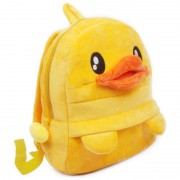Personalized Yellow Duck Baby Bag Stuffed Soft Plush Toy