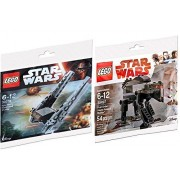 Lego Star Wars First Order Heavy Assault Walker 30497 Last Jedi & Kylo Ren's Command Shuttle Vehicle 30279 Polybag edition Building Set