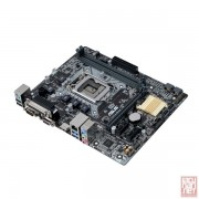 Asus H110M-D, Intel H110, VGA by CPU, PCI-Ex16, 2xDDR4, SATA3, VGA/HDMI/Serial/Parallel/USB3.0, mATX (Socket 1151)