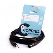 CABLE CORDIAL CIM10MP JACK 6.3mm A XLR MACHO 10m