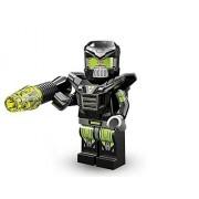 Takara Tomy Lego Minifigures Series 11 Evil Mech Space Menace Collectible Figure Antimatter Microcircuit