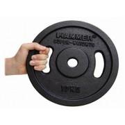 Fekete színű szuper nehéz tárcsás súlyok (2 x 20 kg)