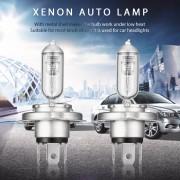 EB 2 Unids 12 V 100 W FSL Xenon Auto Lámpara Bombilla Lámpara De Conducción Faros Universales-Plata Y Azul Transparente