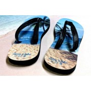 Gallery SI Limited t/a Colour House £11.99 instead of £49.99 for a pair of personalised flip flops from Gallery SI Limited t/a Colour House - save 76%