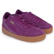 Puma Puma Vikky Platform Sneakers For Women(Purple)