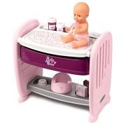 Smoby Baby Nurse 2 az 1-ben kiságy/pelenkázóasztal