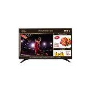 TV 55 LG LED Full HD 55LV640S, Preta, USB, HDMI
