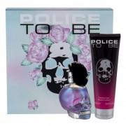 Police To Be Rose Blossom подаръчен комплект EDP 75 ml + лосион за тяло 100 ml за жени