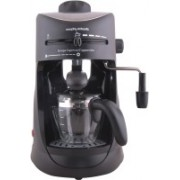 Morphy Richards Europa Espresso / Cappuccino 4 Cups Coffee Maker(Black)