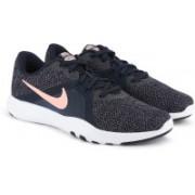 Nike W FLEX TRAINER 8 Running Shoes For Women(Blue)