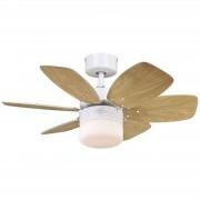 Westinghouse Ventilador de techo Flora Royale con iluminación