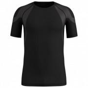 Odlo - BL Top Crew Neck S/S Active Spine Light - T-shirt technique taille L;S;XL, gris/blanc;noir