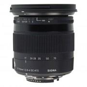 Sigma para Nikon 17-70mm 1:2.8-4 DC OS HSM Macro Contemporary negro - Reacondicionado: muy bueno 30 meses de garantía Envío gratuito