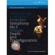 Video Delta Celibidache conducts Prokofiev (Symphony n.5) & Strauss (Death and transfiguration) - DVD