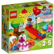 Конструктор ЛЕГО ДУПЛО - Парти за рожден ден - LEGO DUPLO, 10832
