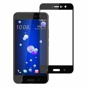 Folie protectie pentru HTC U11 din sticla securizata full size, negru