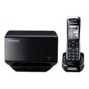 Panasonic KX-TGP500B01 - Téléphone sans fil VoIP - DECT - SIP, SIP v2 - multiligne - noir