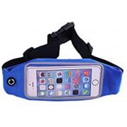 Sport Heupband - Hardloopband - Sportband - Hardloop Riem Met Smartphone Houder - Blauw