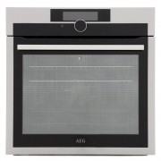 AEG BPE842720M Single Built In Electric Oven - Stainless Steel