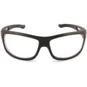 Debonair Retro Square Sunglasses(Black)