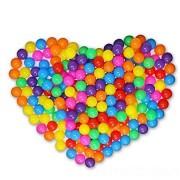 Set 100 bile multicolore 6 cm