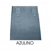 Cortina Madras Corta 1,40x1,50 AZULINO