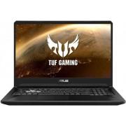 "Laptop Gaming Asus TUF FX505GE-BQ145 (Procesor Intel® Core™ i7-8750H (9M Cache, up to 4.10 GHz), Coffee Lake, 15.6"" FHD, 8GB, 1TB SSHD @5400RPM + 256GB SSD, nVidia GeForce GTX 1050Ti @4GB, Negru) + Bonus Fortnite Frenzy Bundle"