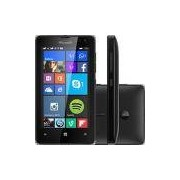 Smartphone Microsoft Lumia 532 Dual Chip Desbloqueado Windows 8.1 Tela 4 8GB 3G Câmera 5MP- Preto