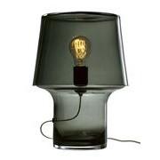 Muuto Lampe de table Cosy in Grey / Verre - H 32 cm - Muuto gris transparent en verre